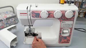Видео-обзор на электромеханическую <b>швейную машину Janome</b> ...