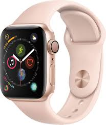 Apple Apple Watch Series 4 (GPS) <b>40mm Gold</b> Aluminum Case with ...