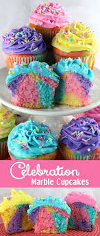 the best cupcake ideas for bake s and parties kitchen fun spring marbled cupcakes