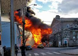 Image result for Cambridge fire 'looked like something you could see in a war zone'