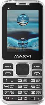 <b>Maxvi X11</b> (Metallic silver) Мобильный <b>телефон</b> 2 SIM-карты ...