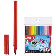 "Купить <b>Фломастеры MAPED</b> (Франция) ""<b>Color</b>'<b>peps</b> Ocean"", 12 ..."