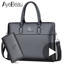 <b>Portable</b> Work <b>Business Office</b> Male Messenger Bag <b>Men</b> Briefcase ...