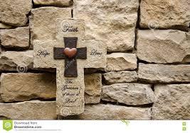 iron wall cross love: hope faith love stone cross hope faith love stone cross background
