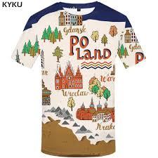 Online Shop <b>KYKU</b> Wall <b>T Shirt Men</b> Paint <b>T-shirt</b> Anime Clothes ...