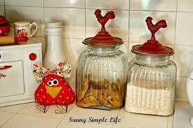 Rooster Chicken Kitchen Decor Sunny Simple Life Chickens In Kitchen Decor