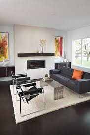 modern white counters mid sized contemporary formal enclosed living room idea in indianapolis with bamboo floors sofas cado modern furniture modern sofa bed