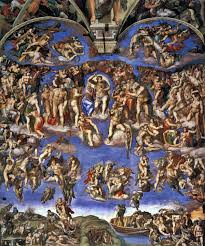 analysis of christian art mustard seedlings the last judgment by michelangelo
