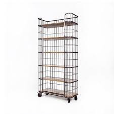 home glamour caspian storage shelf industrial bookshelf furniture online industrial furniture buy industrial furniture