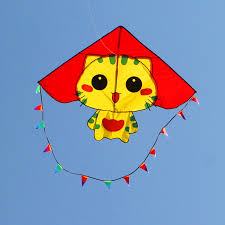 <b>free shipping high quality</b> CC cats kite with handle line ripstop nylon ...