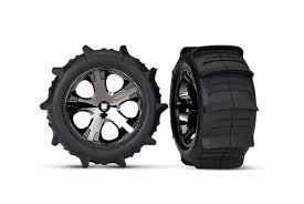 """<b>Колеса в сборе TRAXXAS</b> Paddle Tires 2.8"""" HEX 12mm (2 шт ..."""