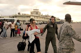 u s  department of defense  photo essay military provides early earthquake help in haiti
