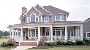 Home Plans   Porches   Home Designs   Porches from Homeplans com Bedroom Country Farmhouse Home Plan HOMEPW
