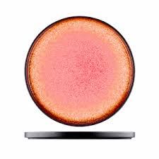 <b>Тарелка</b> «<b>Агат</b>»; фарфор; D=85мм; красный