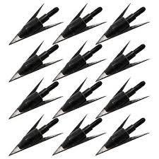 <b>12pcs Bowfishing</b> Arrow Heads Broadheads Hunting Points 150 ...