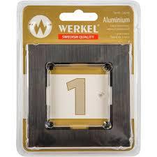 <b>Рамка</b> для розеток и выключателей <b>Werkel Aluminium</b> 1 пост ...
