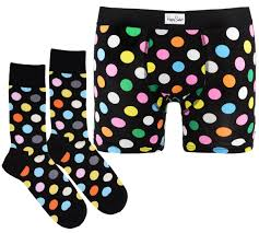 Комплект белья <b>боксеры Happy Socks</b> — купить в интернет ...