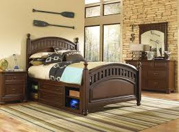 brown furniture collection transitional bedroom