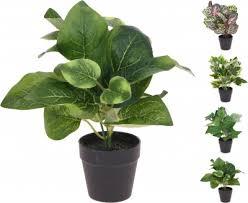 <b>Растение искусственное в</b> горшке 14х25см, в ассортименте ...