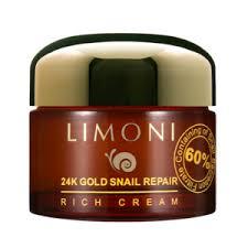 <b>Крем для лица</b> LIMONI <b>24K</b> GOLD SNAIL REPAIR RICH CREAM С ...
