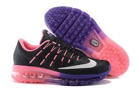 on sale womens nike shoes air max 2016 kpu leather blackwhitepink buy black black nike air