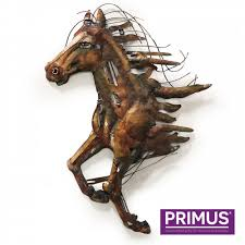 Abstract Horse - 3D Metal Abstract Art | Metal Abstract Art ... - Primus