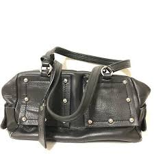 Authentic Marc By Marc Jacobs <b>100</b>% Cow Leather Black <b>Tote</b> ...