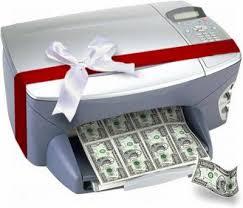 Risultati immagini per stampante monetaria dollari