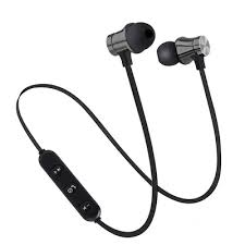 Bluetooth Magnetic Wireless Bluetooth Earphone Stereo Sports ...