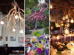 30 Creative DIY Ideas For Rustic Tree <b>Branch Chandeliers</b>