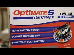 Обзор на Зарядное <b>устройство OptiMate 5</b> 4А <b>Start</b>-<b>Stop</b> (1x4A ...