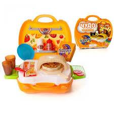 Игровой набор <b>ABtoys Чудо</b>-<b>чемоданчик</b>. Пиццерия PT-00460 ...