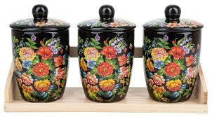 Стоит ли покупать Polystar Global Art <b>Набор банок для сыпучих</b> ...