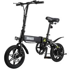 <b>DOHIKER</b> Folding <b>Electric</b> Bike, 270W/36V Lightweight E-Bike ...