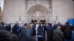 episcopal church palm sunday procession 2017