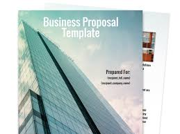 business proposal templates proposal templates