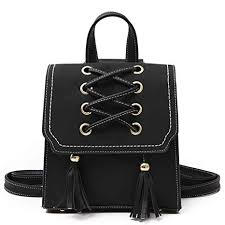 Buy Fanspack Womens Backpack <b>Fashion PU Leather Backpack</b> ...