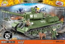 <b>Конструктор COBI</b> Танк Т-34-85 Rudy COBI-2486A | | hobbystar.ru