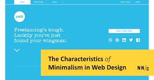 The Characteristics of <b>Minimalism</b> in Web <b>Design</b>