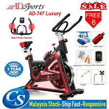 ADSports <b>AD</b>-747 Luxury <b>Gym Fitness</b> Home Iron Spinning Bicycle ...