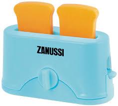 <b>HTI</b> Игрушечный <b>тостер</b> Zanussi 1684216.SO, цвет голубой ...