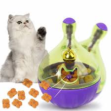 <b>Interactive Dog Cat</b> Food Treat Ball Bowl Toy Funny Pet Shaking ...