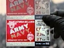 Color Video from the 1939 Army-Navy Game
