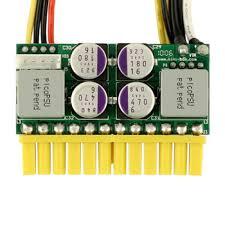 picoPSU-160-XT, 160watt (200watt peak) , <b>12V</b> input <b>DC</b>-<b>DC</b> ATX ...