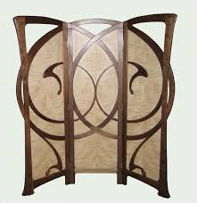 autumn wind art nouveau screen autumn furniture