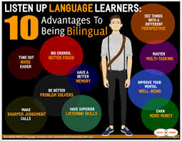 advantages to being bilingual infogram idiomes english deutsch 10advantagesbilingual 3
