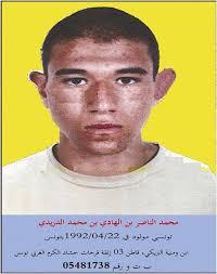 Le ministère de l'intérieur a publié, lundi, un avis de recherche contre un dangereux terroriste, le dénommé Mohamed Nasser Ben Hédi Ben Mohamed Dridi, ... - mi4