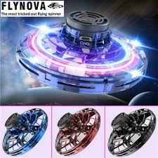 Original Flynova Mini Flying Toy Gyro Rotator Drone UFO Led ...