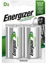 Аккумулятор <b>Energizer</b> Power Plus 2500 NH50/<b>D</b>, 2 шт. <b>Energizer</b> ...
