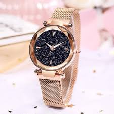 Online Shop Luxury <b>Women Watches Ladies Magnetic</b> Starry Sky ...
